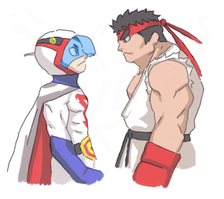 Random - Tatsunoko vs. Capcom by LionHeroic