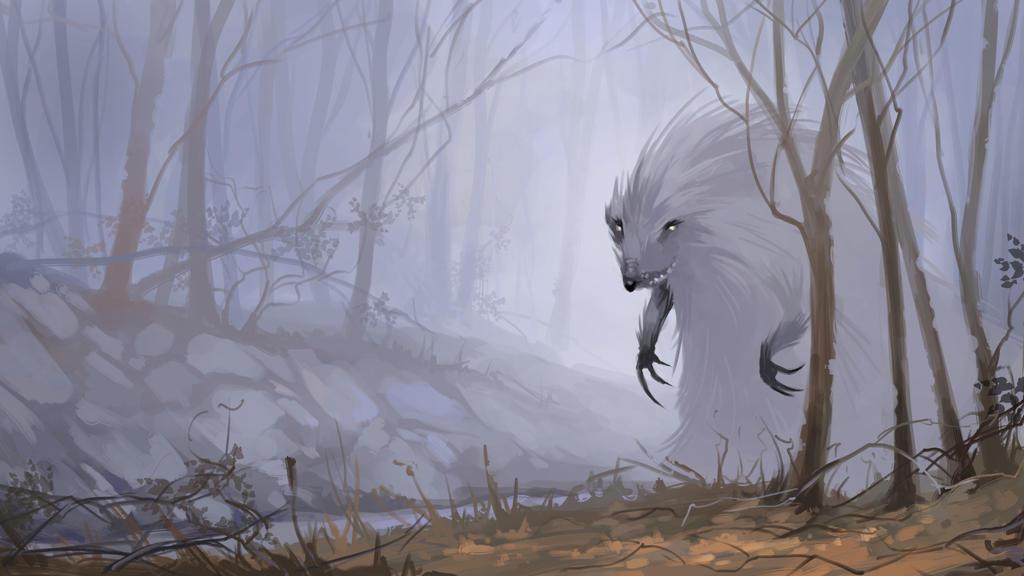 Hedgehog in the mist. Krita speed painting. by Grafikwork