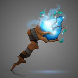 Magic staff icon by Grafikwork