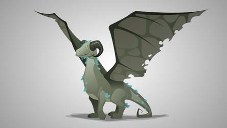 Green Dragon by Grafikwork
