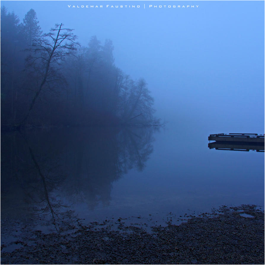 Misty Morning Silence by Val-Faustino