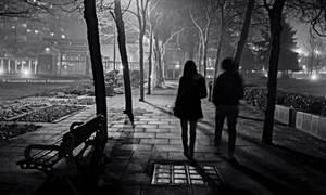 Moonlight Walk II by Val-Faustino