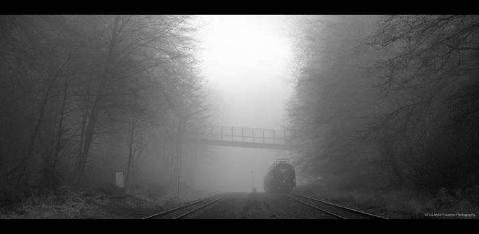 Misty Morning Train