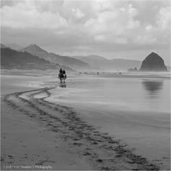 Horseback II by Val-Faustino