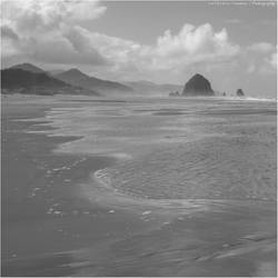 Cannon Beach II by Val-Faustino