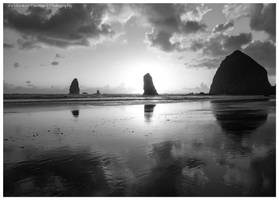 Reflections of Cannon Beach