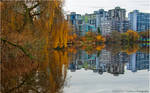 City and Nature II by Val-Faustino