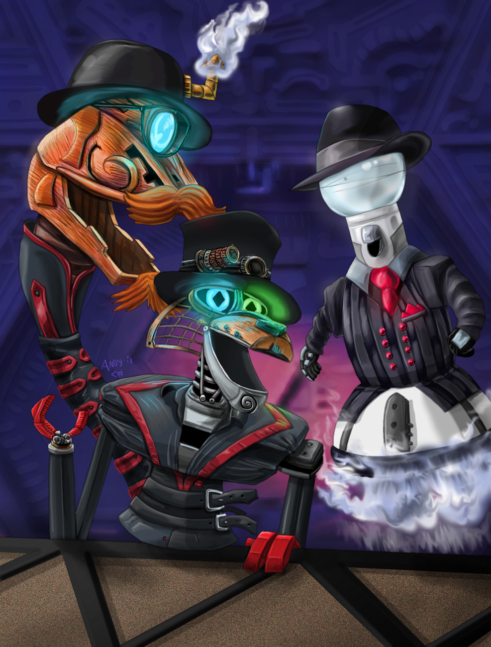 Fandom Powered By Wikia: Steam Powered Mystery Science Giraffe Theater 3000 By