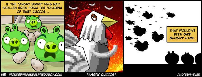 Angry Cuccos by Wonderwig