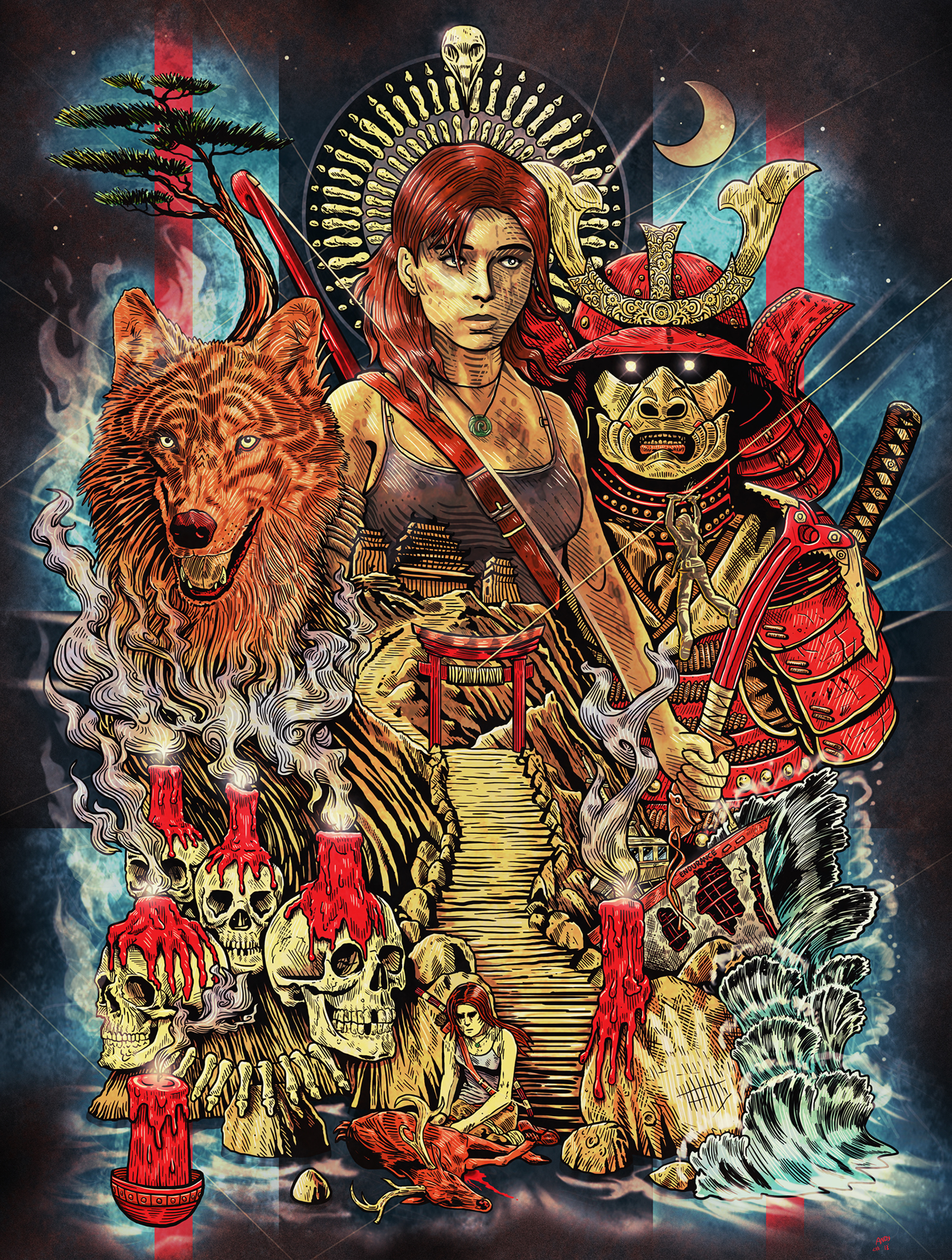 Tomb Raider 3 by Wonderwig