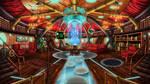 Steampunk TARDIS Interior Console Room