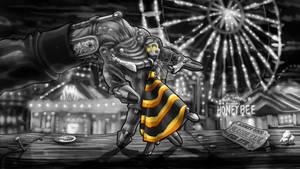 Honeybee (Black and White)