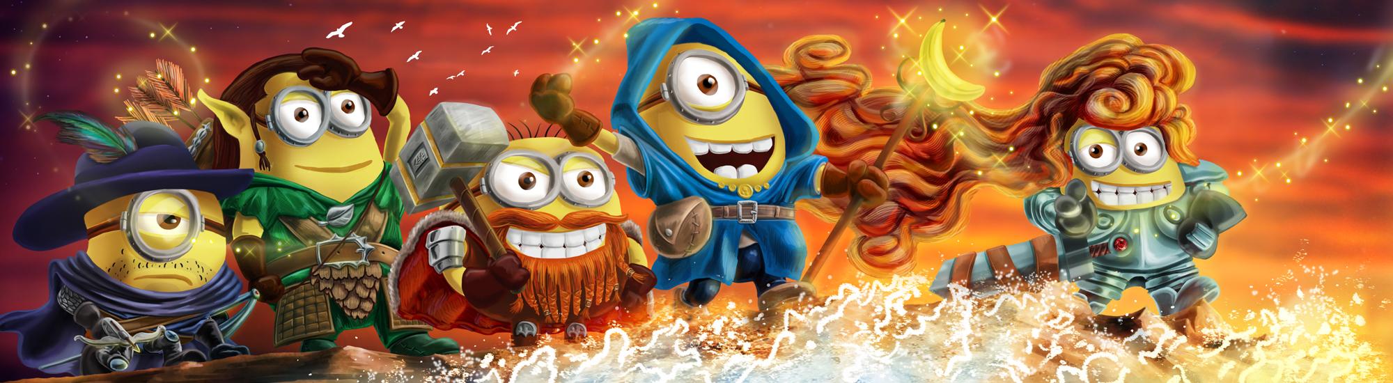 Minions on a Quest by Wonderwig