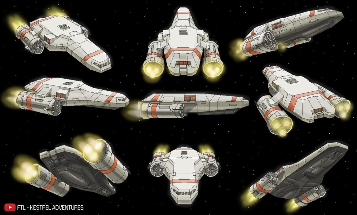 The Kestrel - Angles by Wonderwig