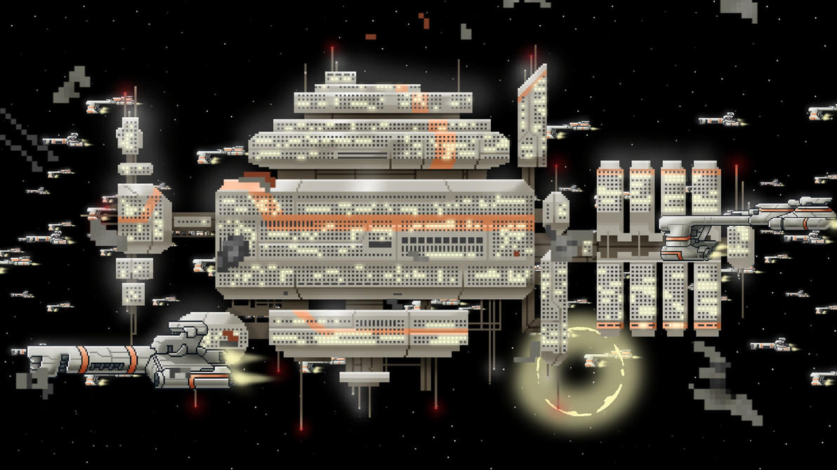 The Last Remaining Federation Base by Wonderwig