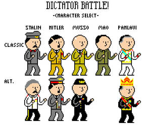 Dictator Battle menu thingy by Bentleyhacker