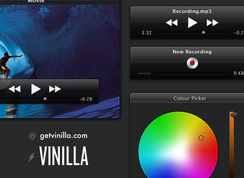 Vinilla - A 35+ Piece UI Kit