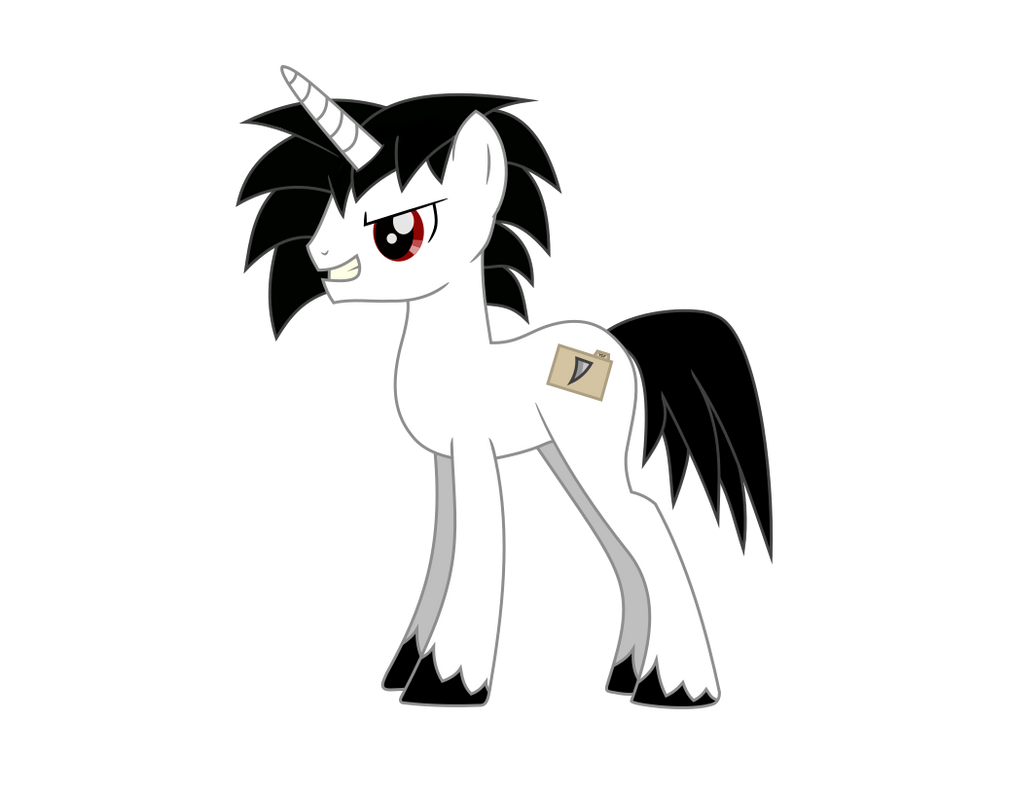 Shade Blade [Thunderstorm Cloud Factory Character] by NightDrawnFics