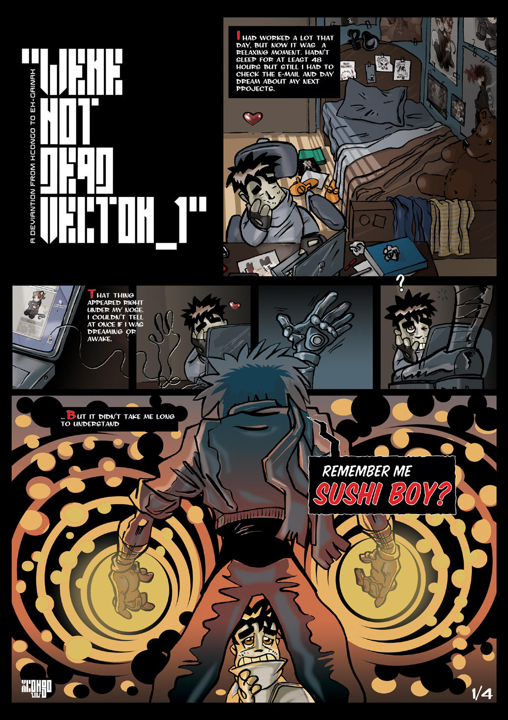 'Were not dead Vector_1' by xcongo