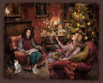 Christmas at Griffindor Common Room