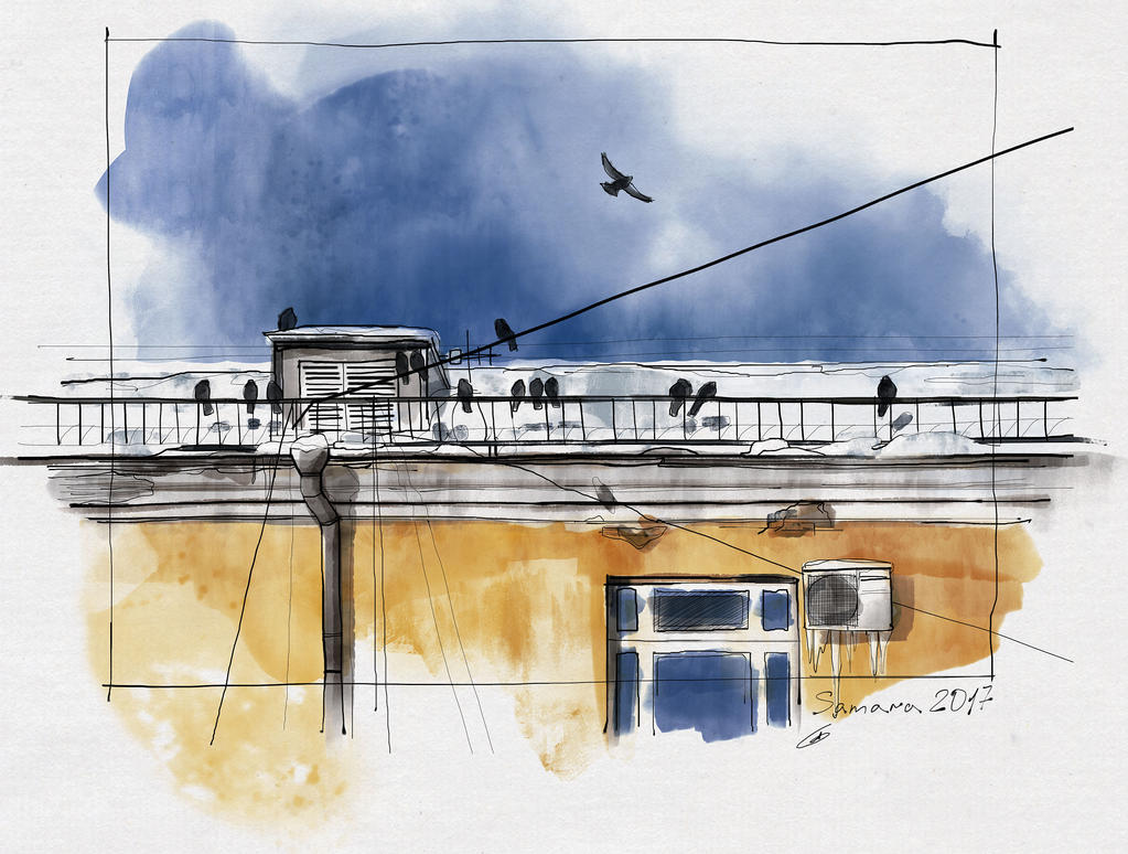 Sketch a day 8 by AlyonaGlebova