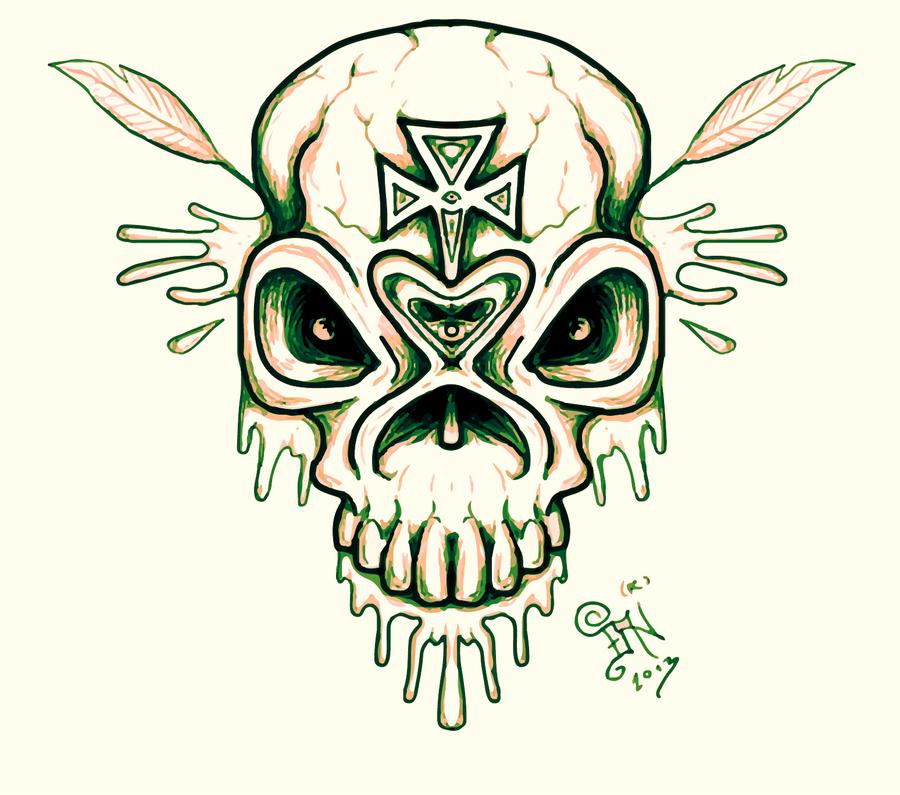revenge skull by nikolass by nikolass83gianni