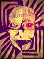 Resist the madness skull wallpaper by nikolass by nikolass83gianni