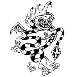 Inktober 2019 day 12 dragon by nikolass