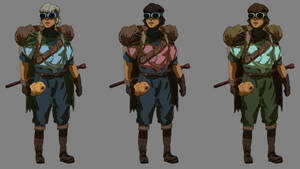 The Cartographer - Color Concepts