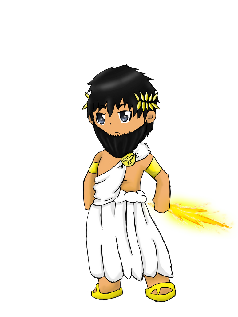 chibi zeus by animepeep33 on deviantart