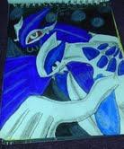 Lugia and Shadow Lugia by bluestreak1050