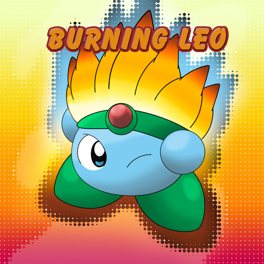 Kirby: Burning Leo by LioSKETCH on DeviantArt