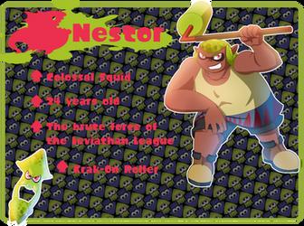 Splatoon OC: Nestor by LioSKETCH