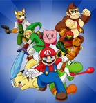 Super Smash Brothers - The Great Eight