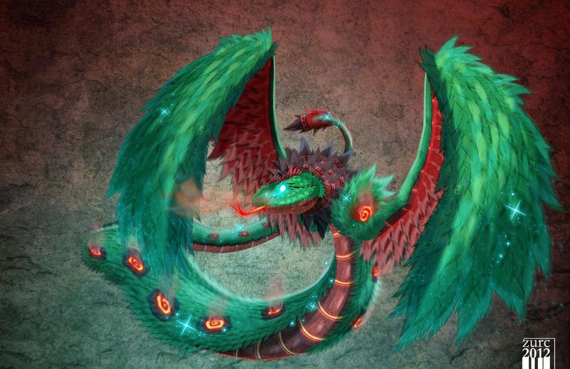 quetzalcoatl by bryanzurc