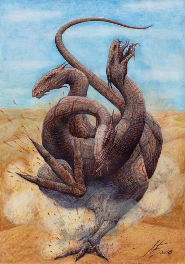 running Hydra by MaltePawelek