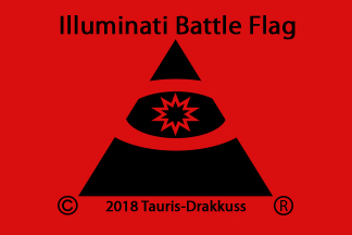 Illuminati Battle Flag by Tauris-Drakkuss