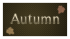 Autumn Stamp by EternalxRequiem