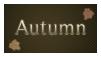 Autumn Stamp by EternalxRequiem