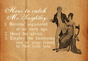 How To Catch Mr. Knightley by midenian-lostie