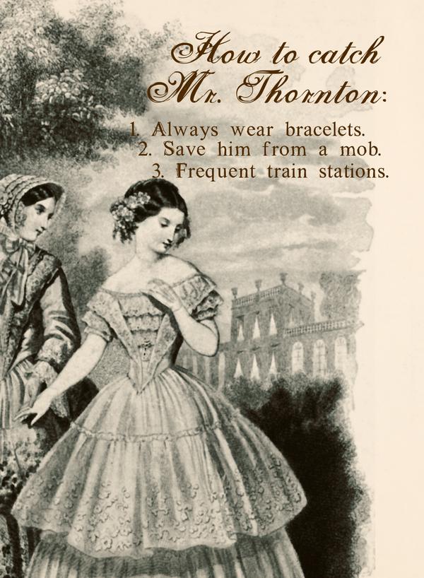 How to Catch Mr. Thornton by midenian-lostie