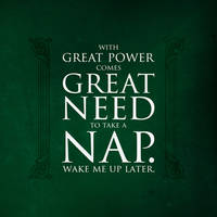 Percy Jackson: With Great Power by midenian-lostie