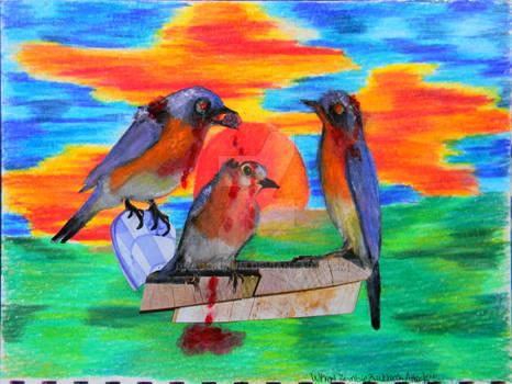 When Zombie Bluebirds Attack