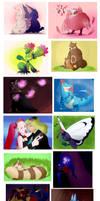 Pokemon February Art Challenge