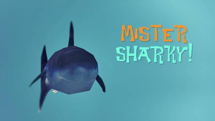 Mister Sharky wallpaper