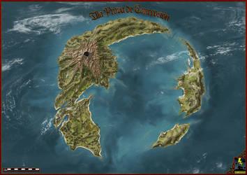 Illa Prova de Concepcion - Proof of concept island by Donnerhaus