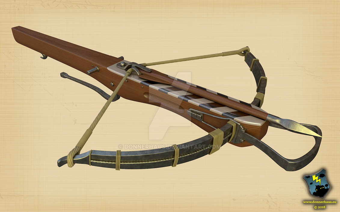 Crossbow - Armbrust by Donnerhaus