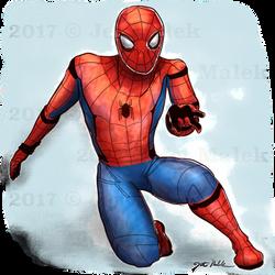 Fan Art - Spider Man Homecoming by JetMalek