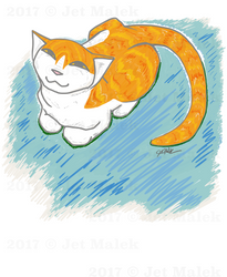 Maria the Cat by JetMalek