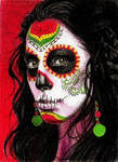 Day of the Dead ACEO